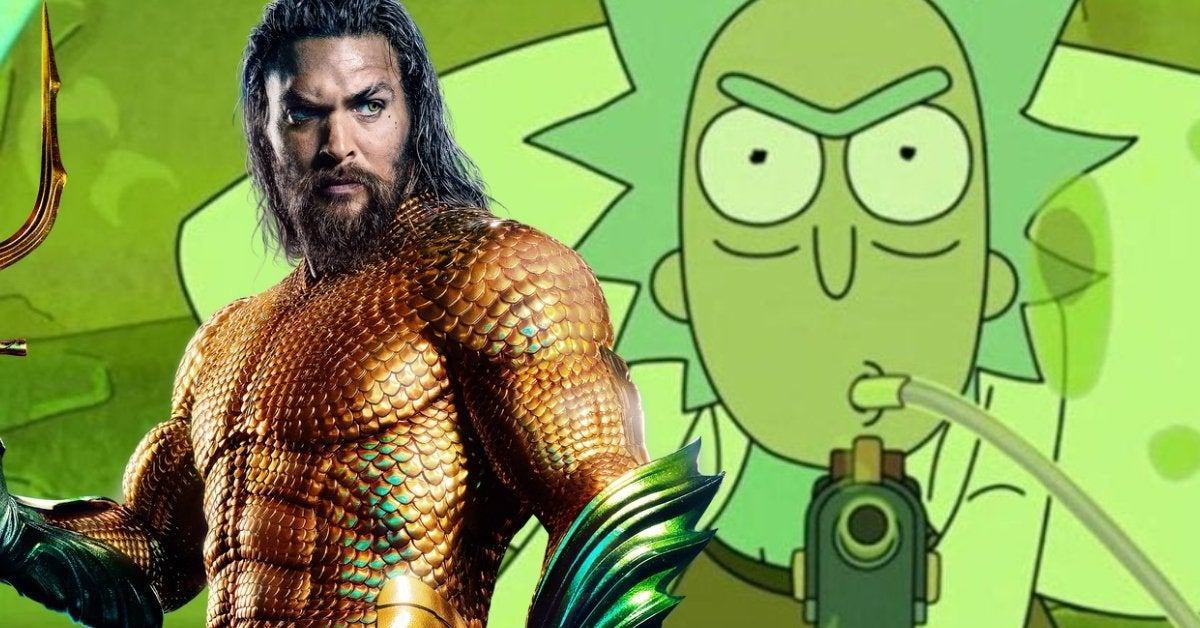 Rick and Morty Season 5 Aquaman