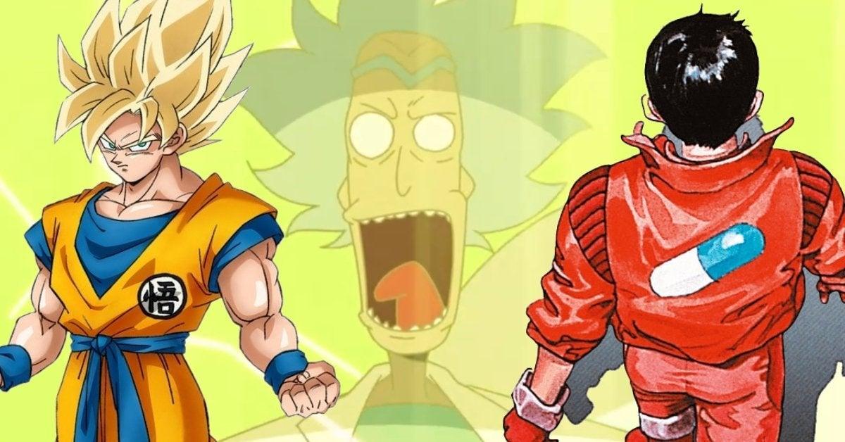 Rick and Morty vs Genocider Anime Akira Dragon Ball Easter Eggs Adult Swim