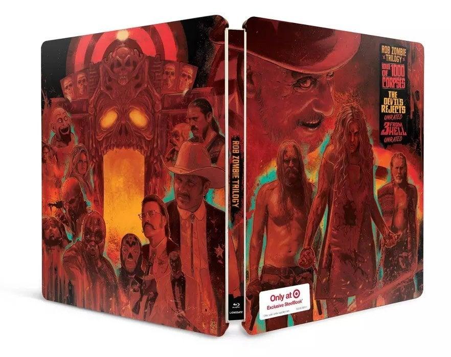 rob zombie firefly trilogy blu ray steelbook