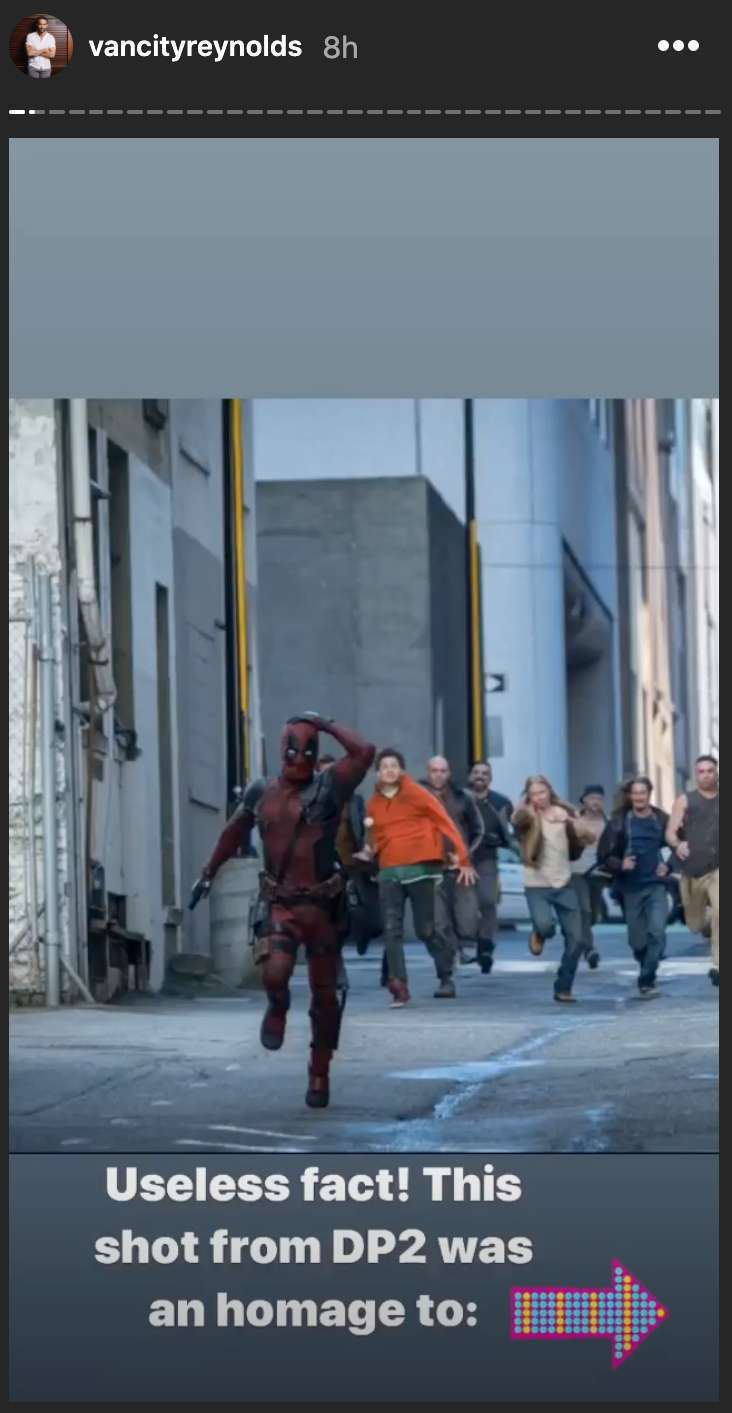 ryan reynolds deadpool 2 indiana jones homage 1