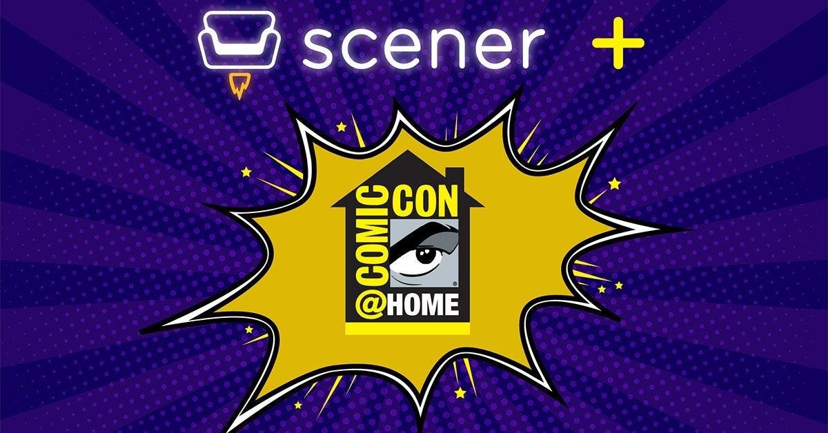 scener comic con at home