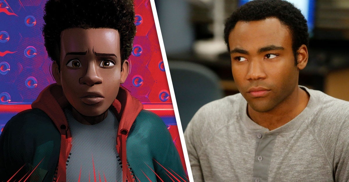 spider man into the spider verse community donald glover