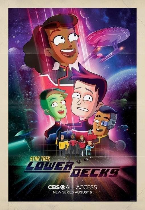 Star Trek: Lower Decks Trailer Officially Released