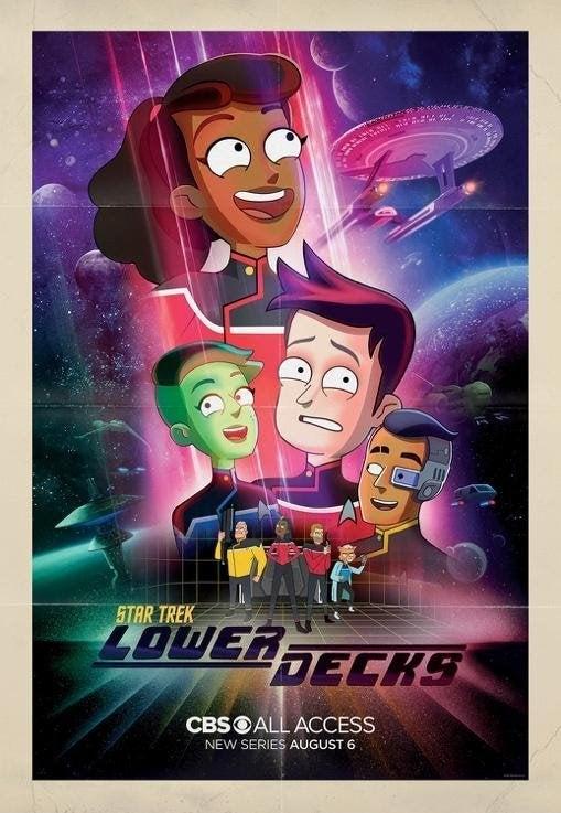 Star Trek Lower Decks Key Art