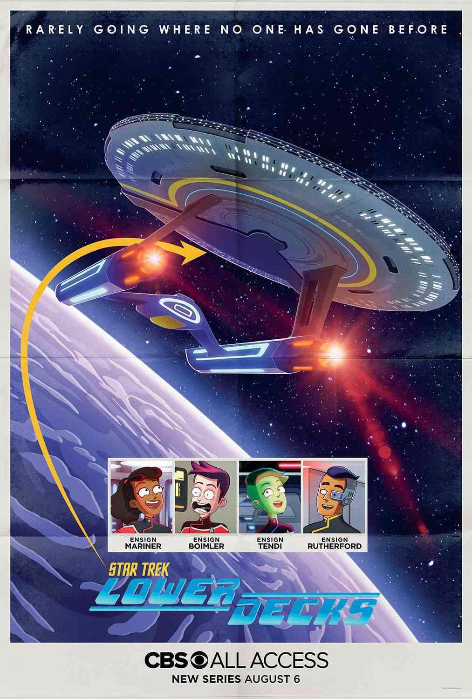 Star Trek Lower Decks Poster