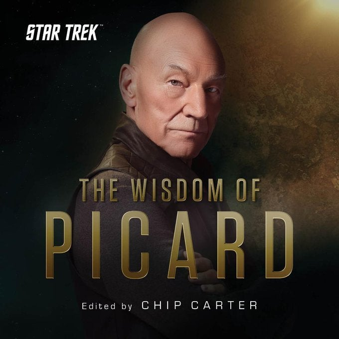 Star Trek The Wisdom of Picard Cover
