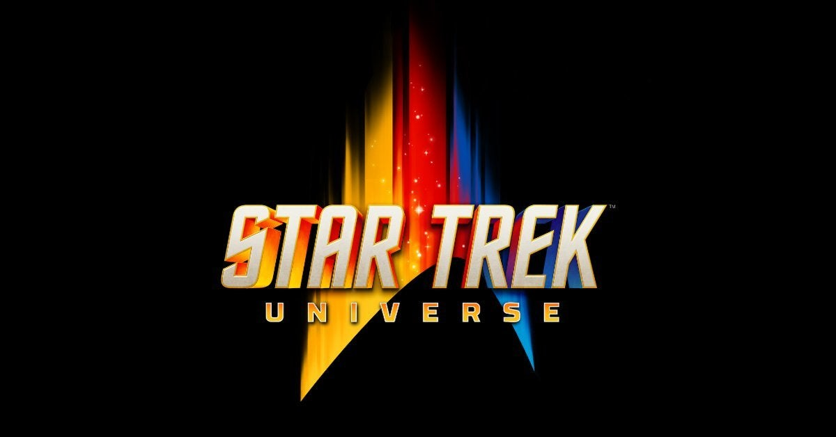 star trek universe comic con at home logo