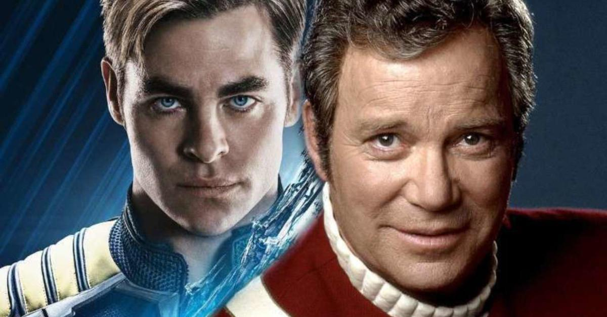 Star Trek William Shatner Chris Pine Kirk