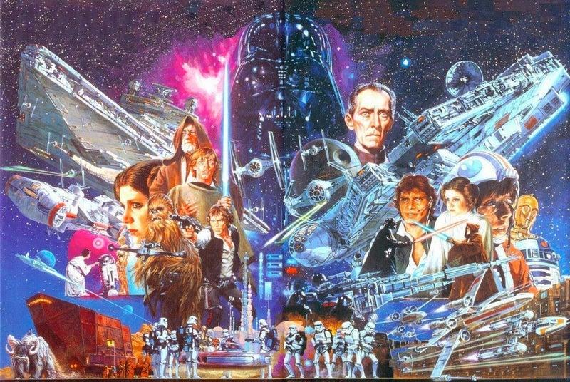 Star Wars A New Hope by Noriyoshi Ohrai