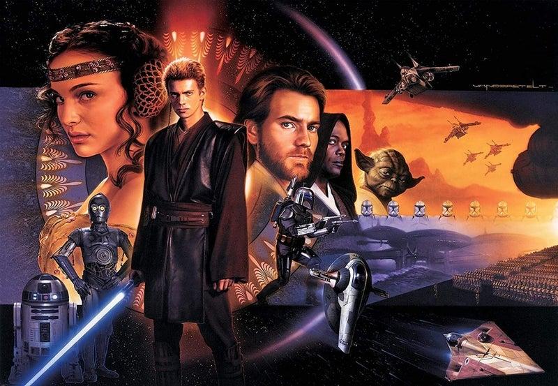 Star Wars Attack Clones Artwork