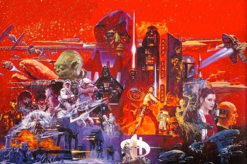 Star Wars Empire Strikes Back by Noriyoshi Ohrai