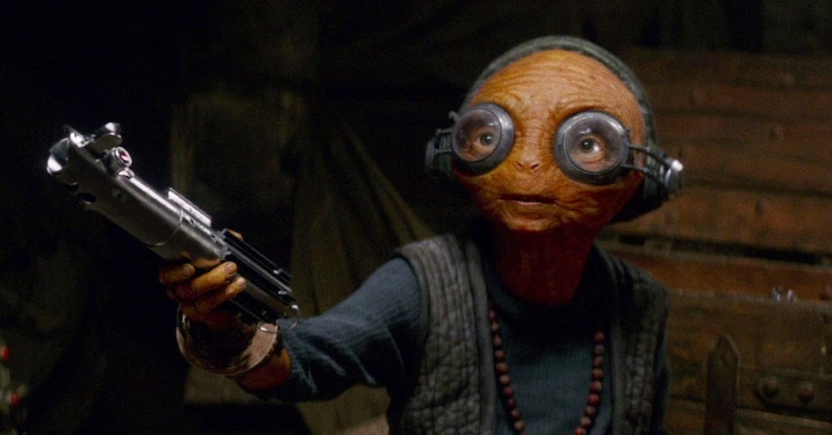 Star Wars Force Awakens Maz Kanata Alternate Concept Art