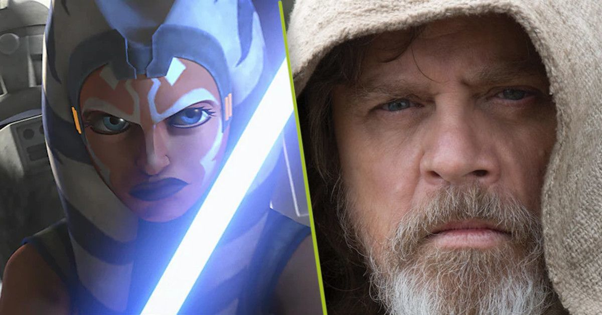 Star Wars Mark Hamill Ahsoka Tano