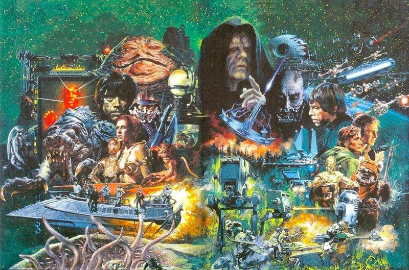 Star Wars Return of the Jedi by Noriyoshi Ohrai