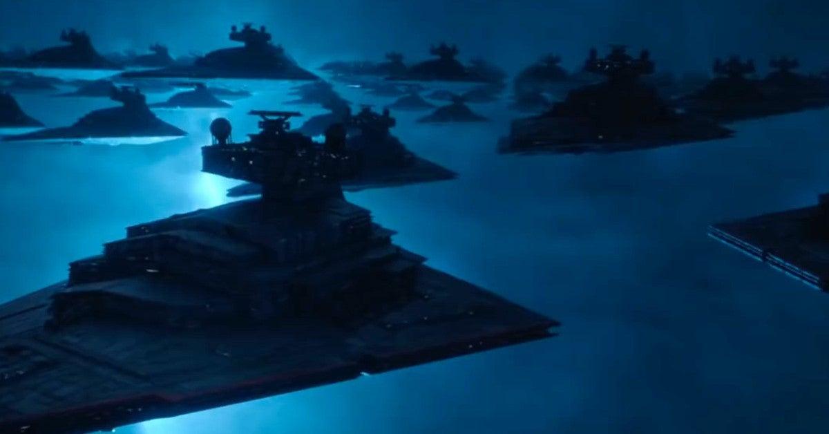 Star Wars Rise of Skywalker Double Decker Star Destroyer Concept Art