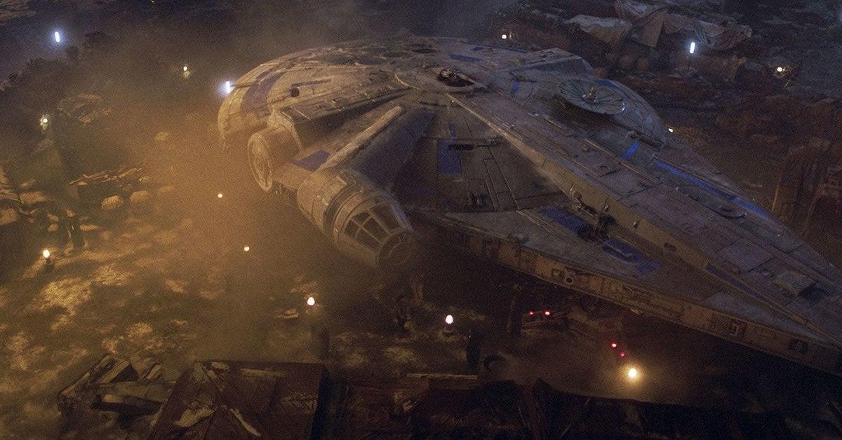 star wars solo millennium falcon