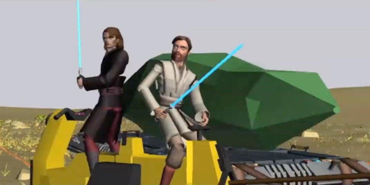 Star Wars The Clone Wars Crystal Crisis on Utapau