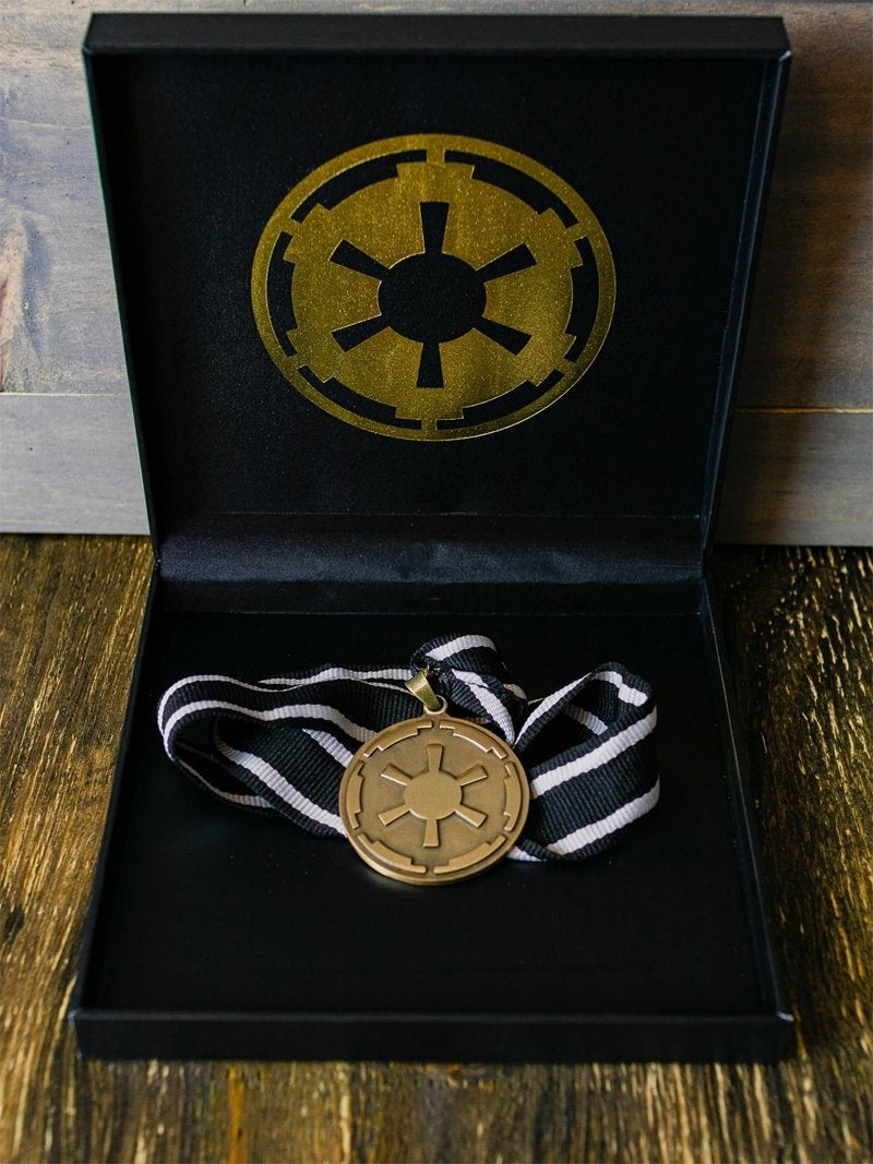 star wars the mandalorian imperial necklace