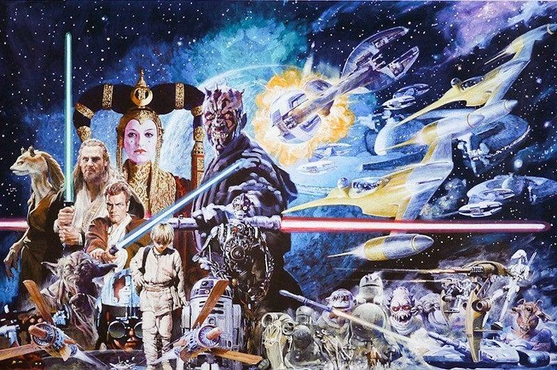 Star Wars The Phantom Menace by Noriyoshi Ohrai