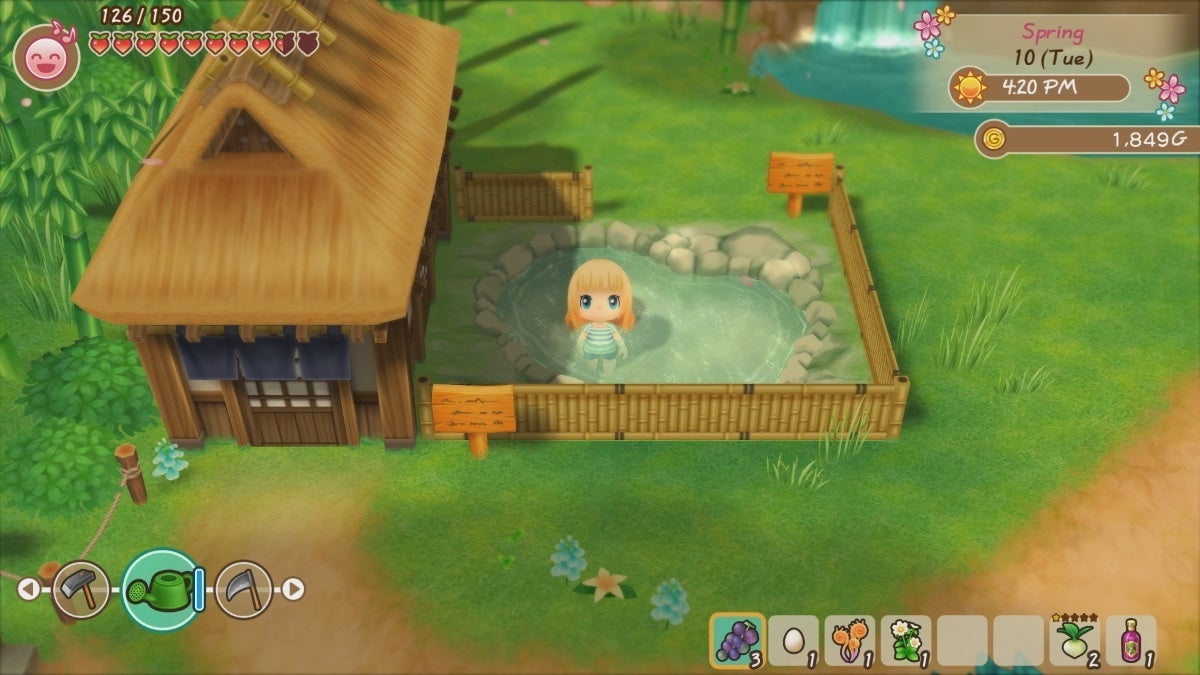 story of seasons friends of mineral town screenshot 1