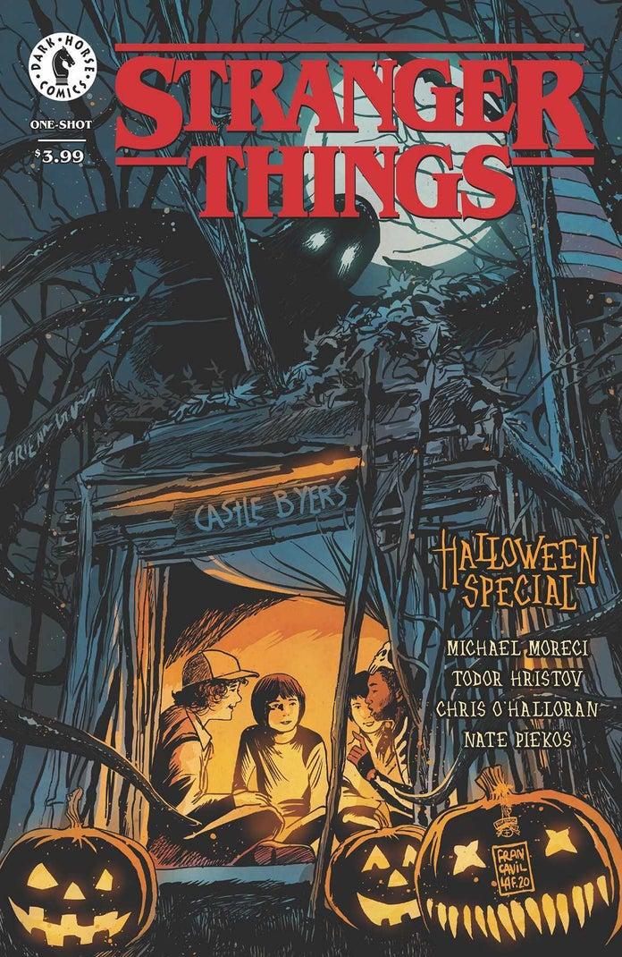 Stranger-Things-Halloween-One-Shot-Cover