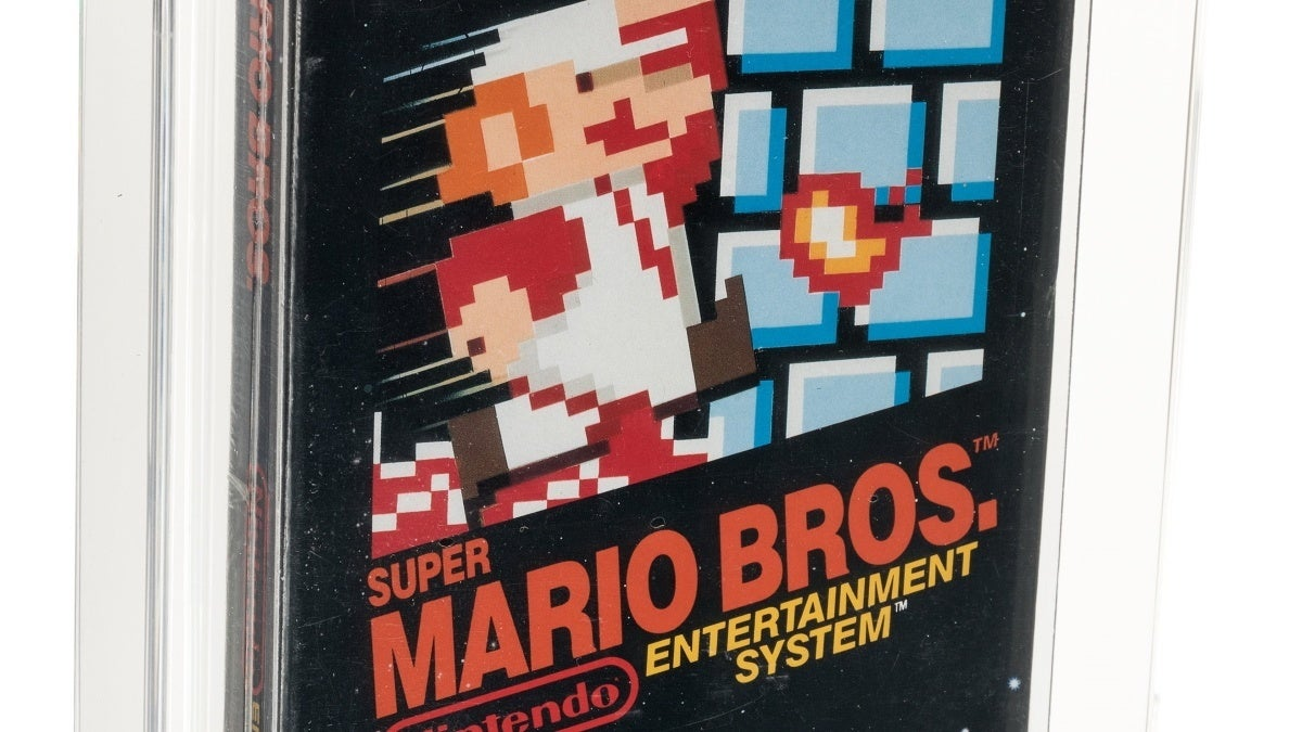 super mario bros heritage auction record new cropped hed