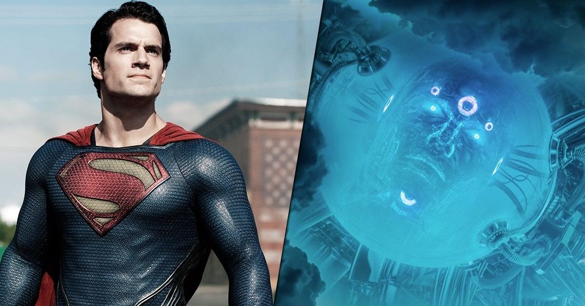 superman man of steel 2 brainiac