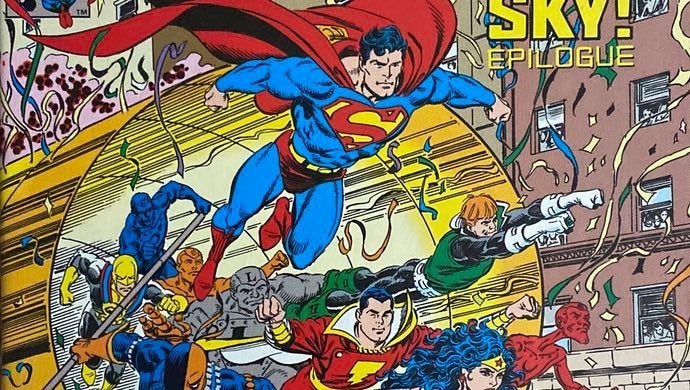 Adventures of Superman #489 with a cool Tom Grummett cover
