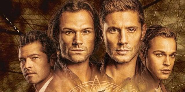 Supernatural Season 15 Jensen Ackles Jared Padalecki Final Set Photo