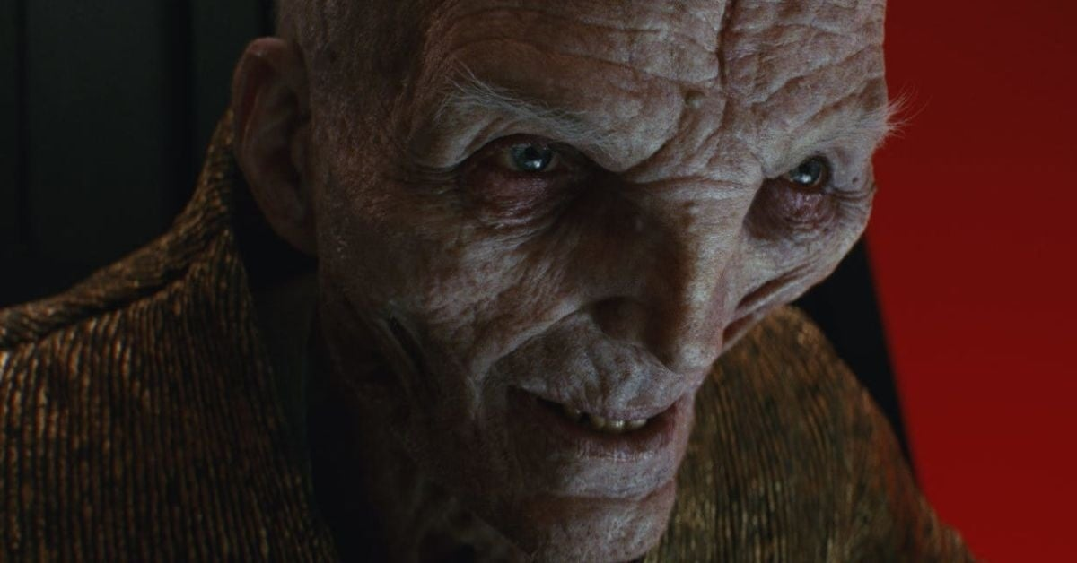 supreme leader snoke was a girl