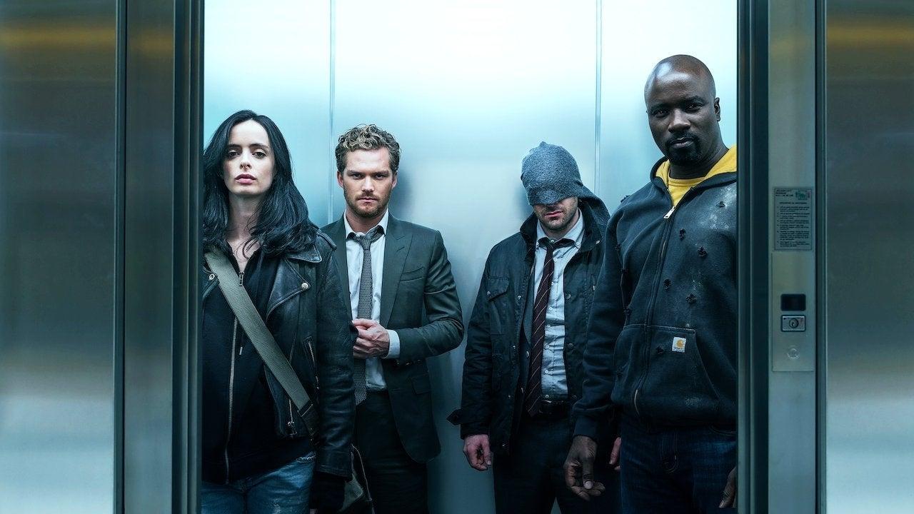 the defenders netflix elevator
