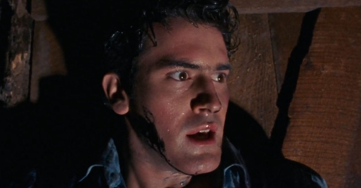 the evil dead bruce campbell 1981