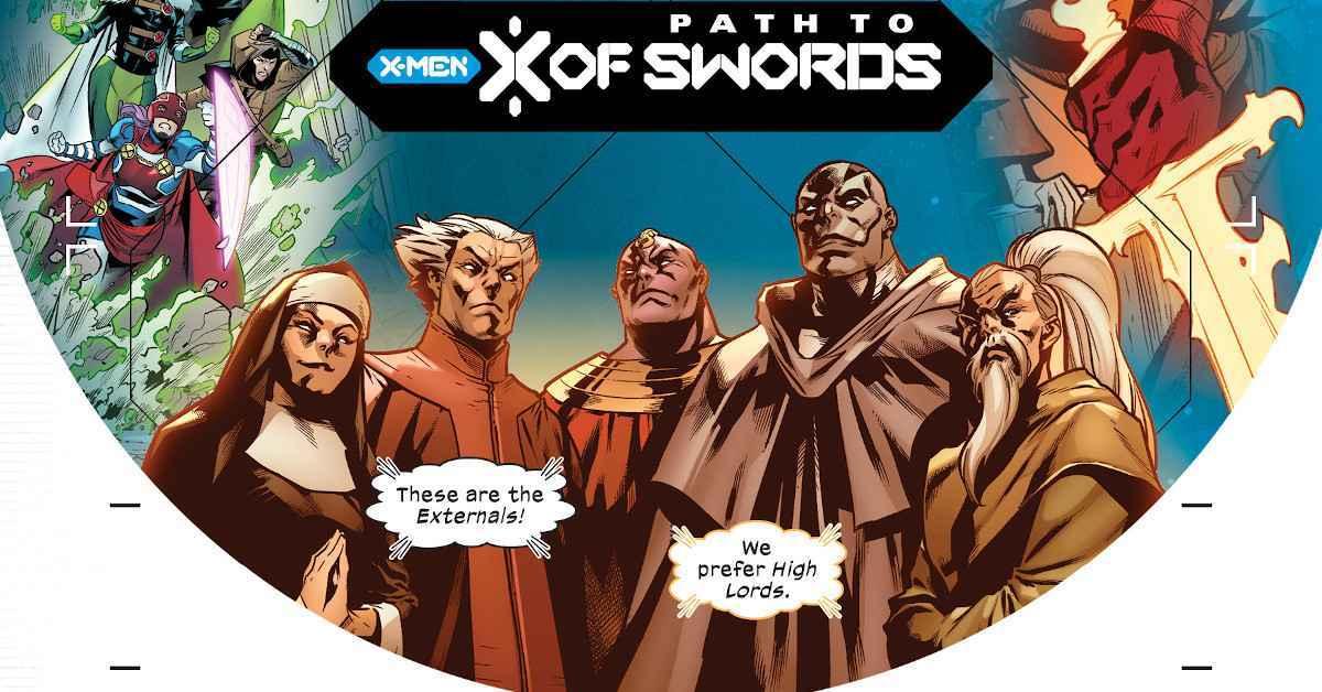 The Externals X of Swoards X-Men