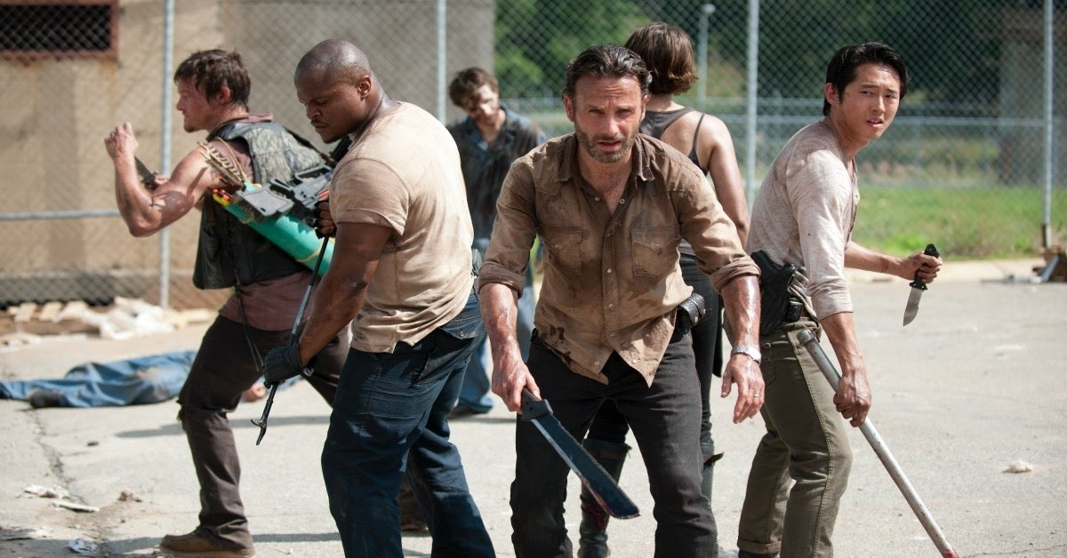 The Walking Dead Andrew Lincoln Season 3
