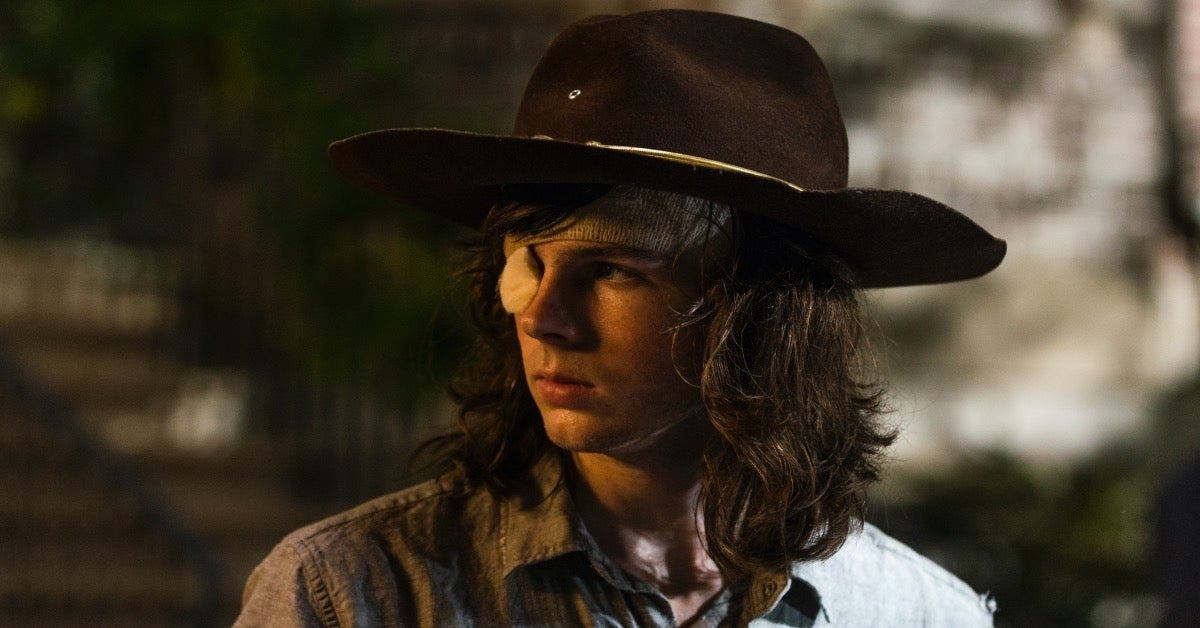 The Walking Dead Carl Grimes Chandler Riggs