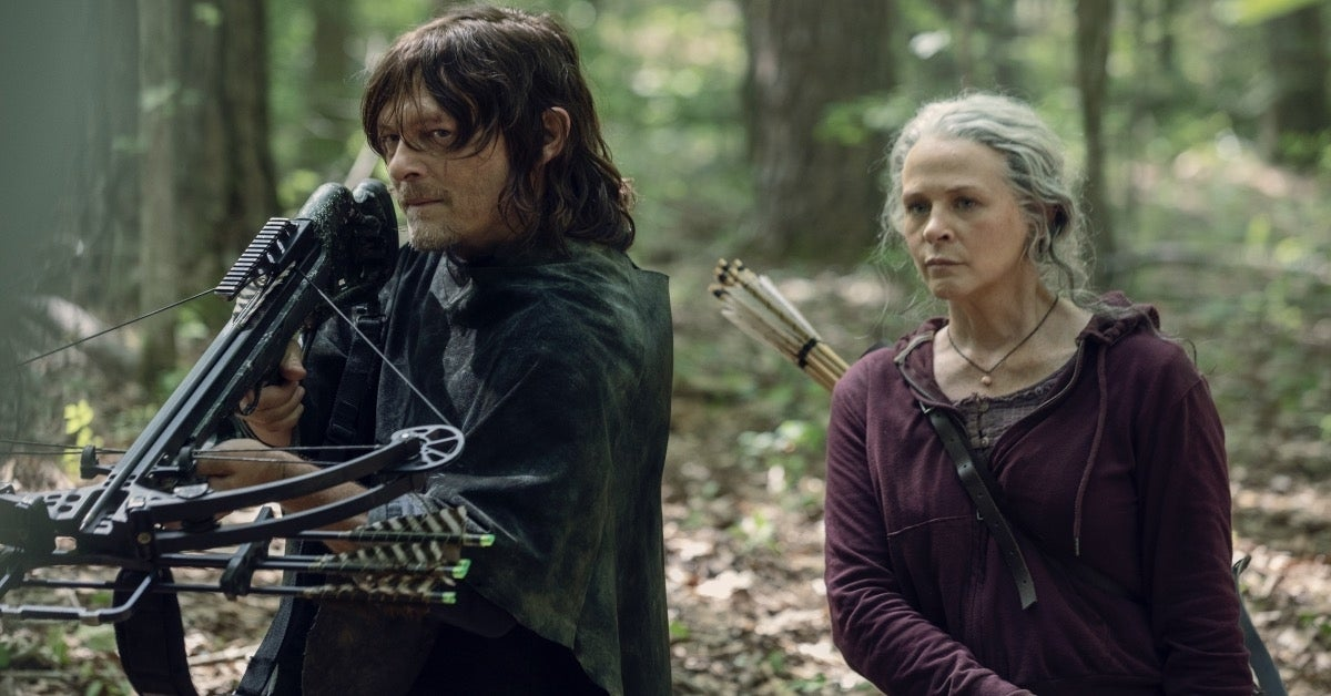 The Walking Dead Daryl Carol Reedus McBride