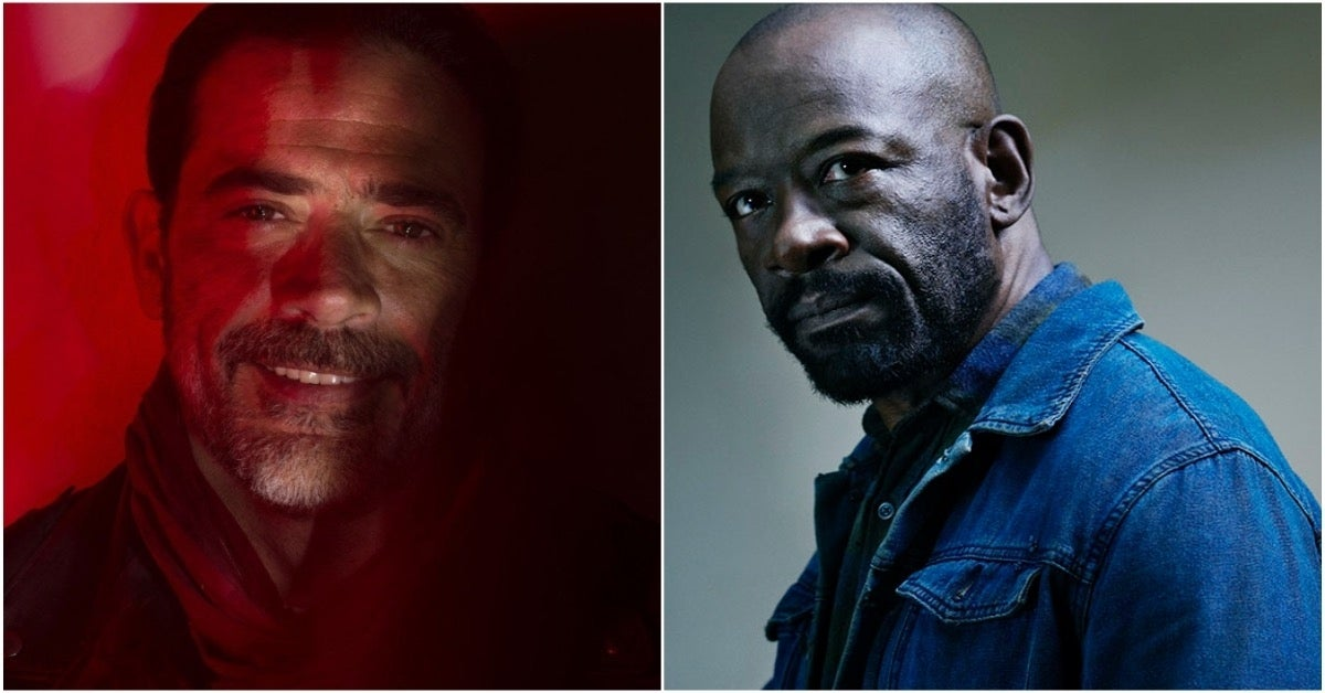 The Walking Dead Jeffrey Dean Morgan Negan Lennie James Morgan