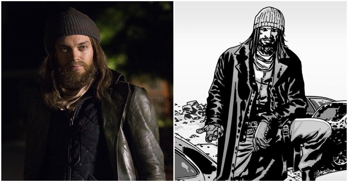 The Walking Dead Jesus Tom Payne