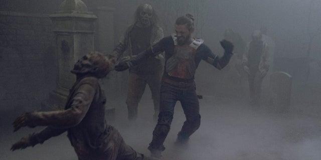 The Walking Dead Jesus Whisperers Tom Payne