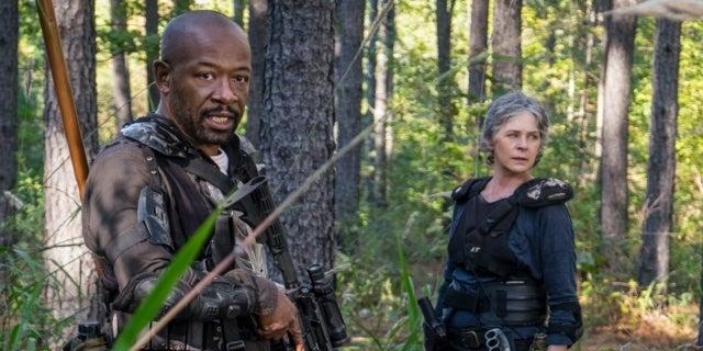 The Walking Dead Melissa McBride Lennie James