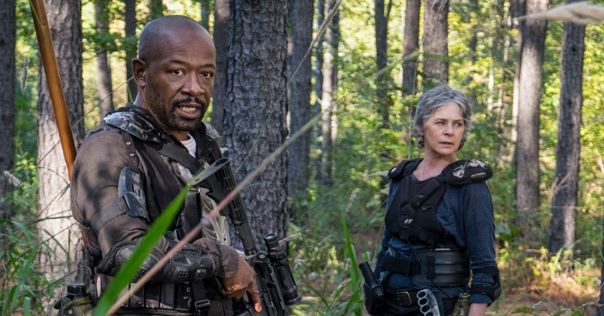 The Walking Dead Melissa McBride Lennie James