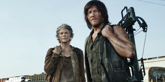 The Walking Dead Melissa McBride Norman Reedus