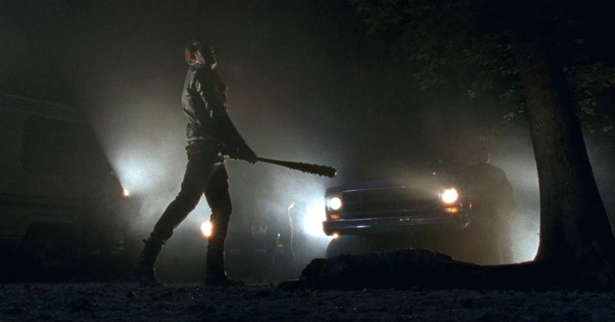 The Walking Dead Negan Glenn Abraham deaths