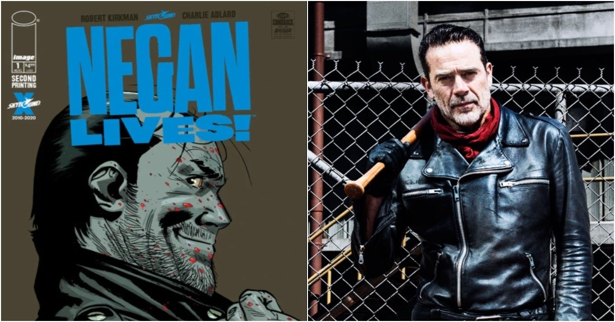 The Walking Dead Negan Lives Jeffrey Dean Morgan
