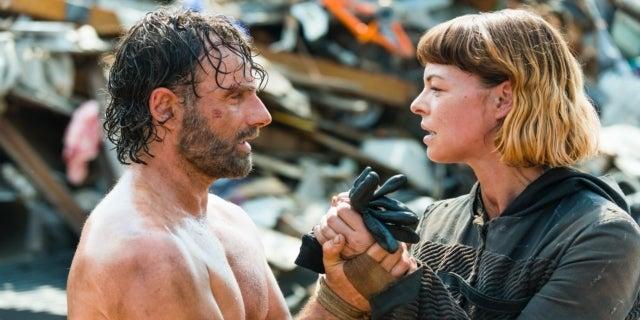 The Walking Dead Rick Grimes Andrew Lincoln Anne Jadis Pollyanna McIntosh