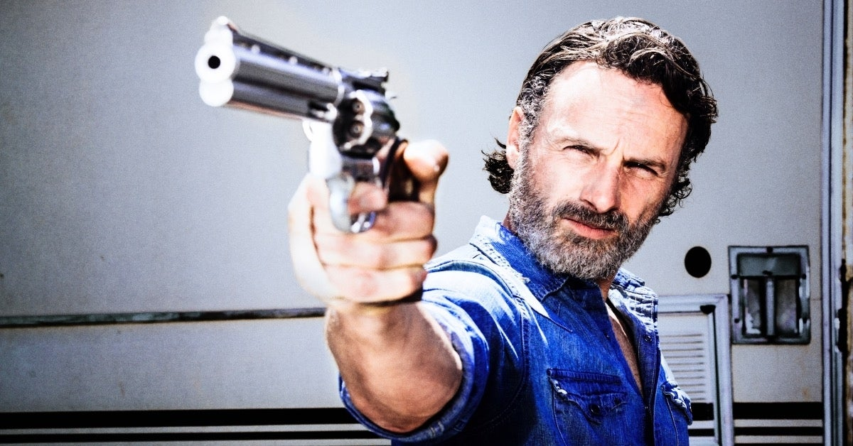 The Walking Dead Rick Grimes Andrew Lincoln Season 8