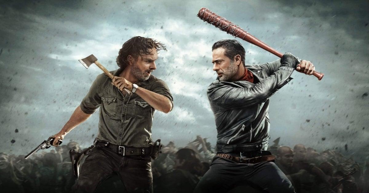 The Walking Dead Rick Grimes Negan Andrew Lincoln Jeffrey Dean Morgan
