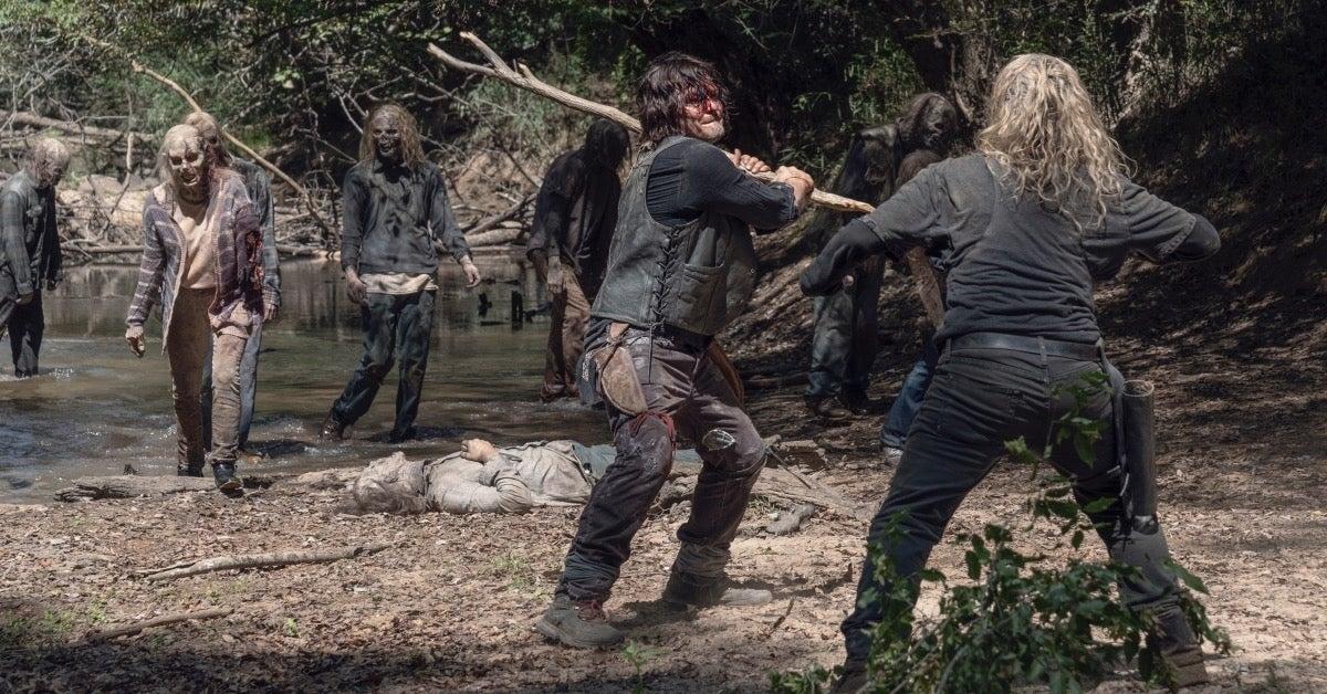 The Walking Dead Season 10 Daryl Norman Reedus Alpha Samantha Morton