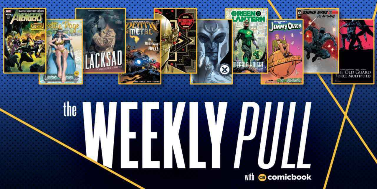 The Weekly Pull: The Old Guard, Death Metal, X-Men, and More