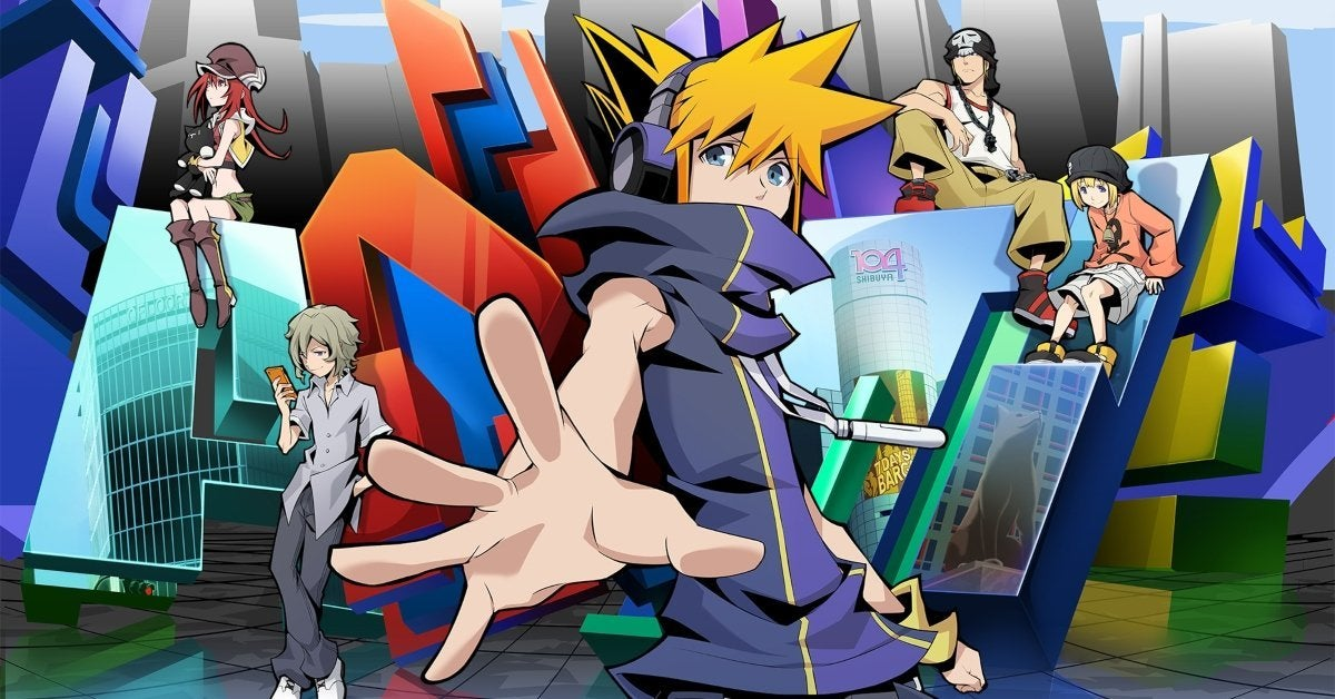 The World Ends With You Anime Visual